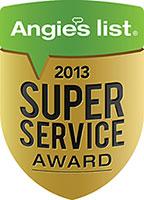 Yost Wins Esteemed 2013 Angie's List Super Service Award